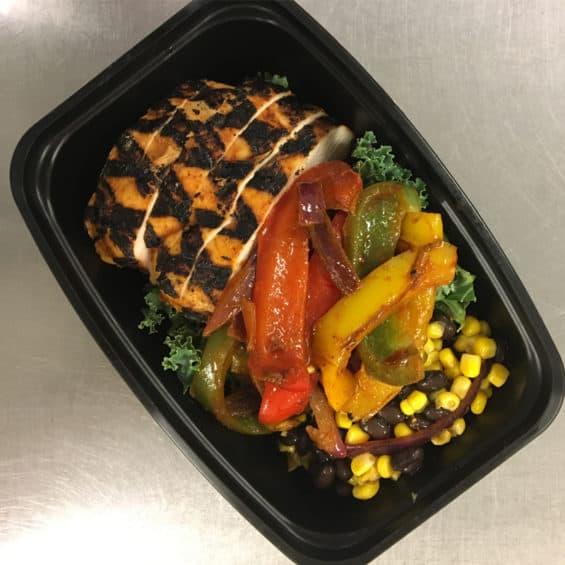 Fajita Bowl - The Local Kitchen Healthy Meal Prep in Detroit