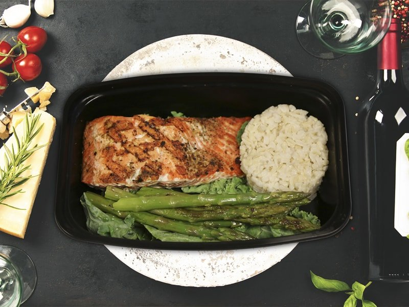 Grilled Salmon - Always Fresh Healthy Meal Prep