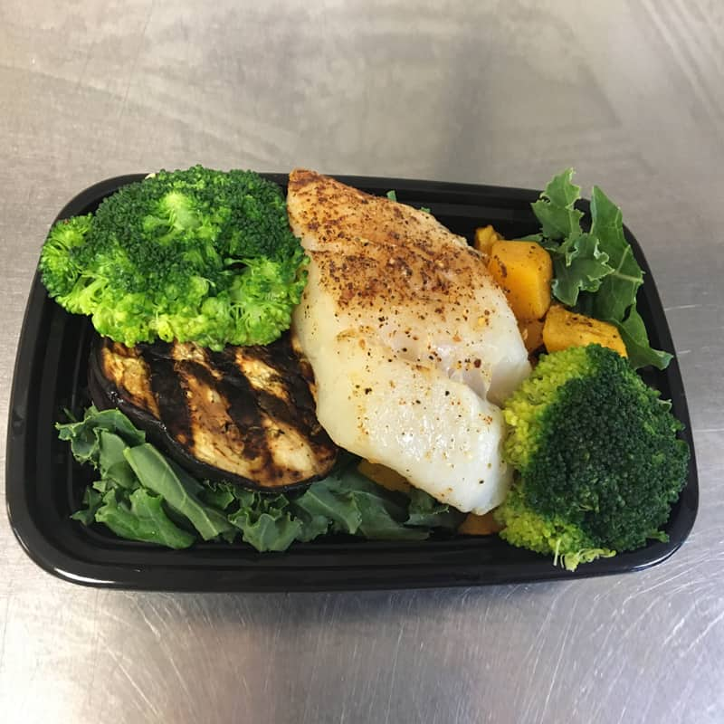 Baked Cod - The Healthy Meal Plan from Detroit Michigan