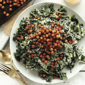 Creamy Kale & Chickpea Salad - Marvelous Healthy Meal Prep