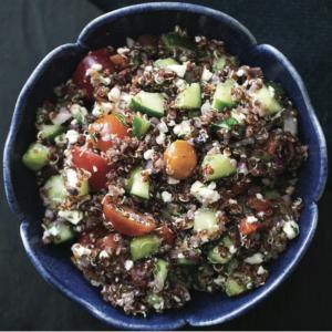 Greek Quinoa Salad - Healthy Meal Prep