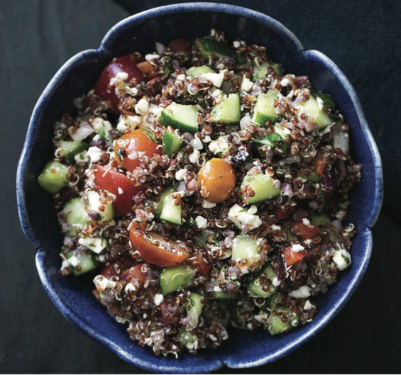 Greek Quinoa Salad - Healthy Meal Prep